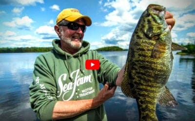 Smallmouth Bass in Quetico Provincial Park