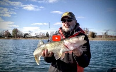 Coldwater Fall Walleyes on Plastics