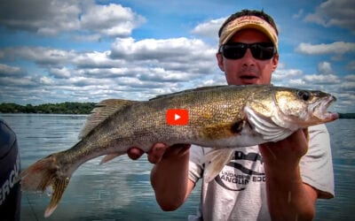 Vertical Jigging Lipless Crankbaits for Walleyes