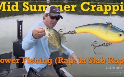 Power Fishing The Rapala Slab Rap: Mid Summer Crappie