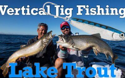 Vertical Jig Fishing Lake Trout